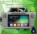Android 5.1.1 dvd-плеер автомобиля для Camry Tofyota 2006 2007 2008 2009 2011 Dvd-плеер Автомобиля Gps-навигации Радио Центральной мультимедиа