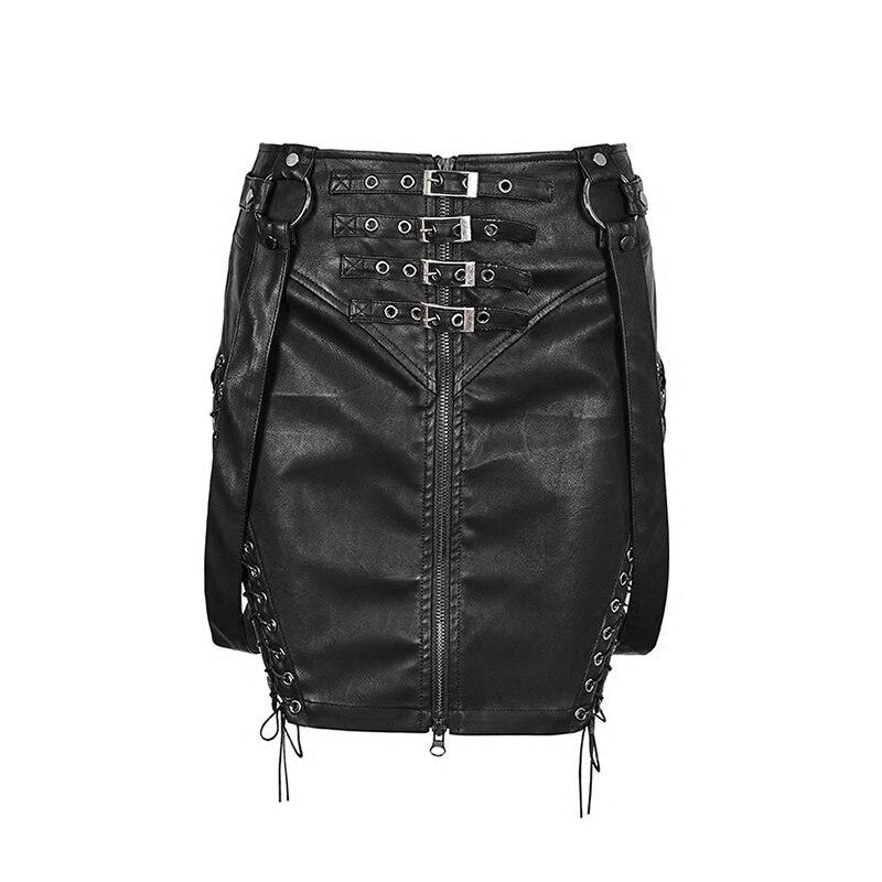 Mini Vintage Cuir Gothique Bk Fesses Sexy Paquet Courte De Noir Jupes Jupe Pu Club Femmes Punk Mode En Q333 Moulante 5Fgzpwqzx
