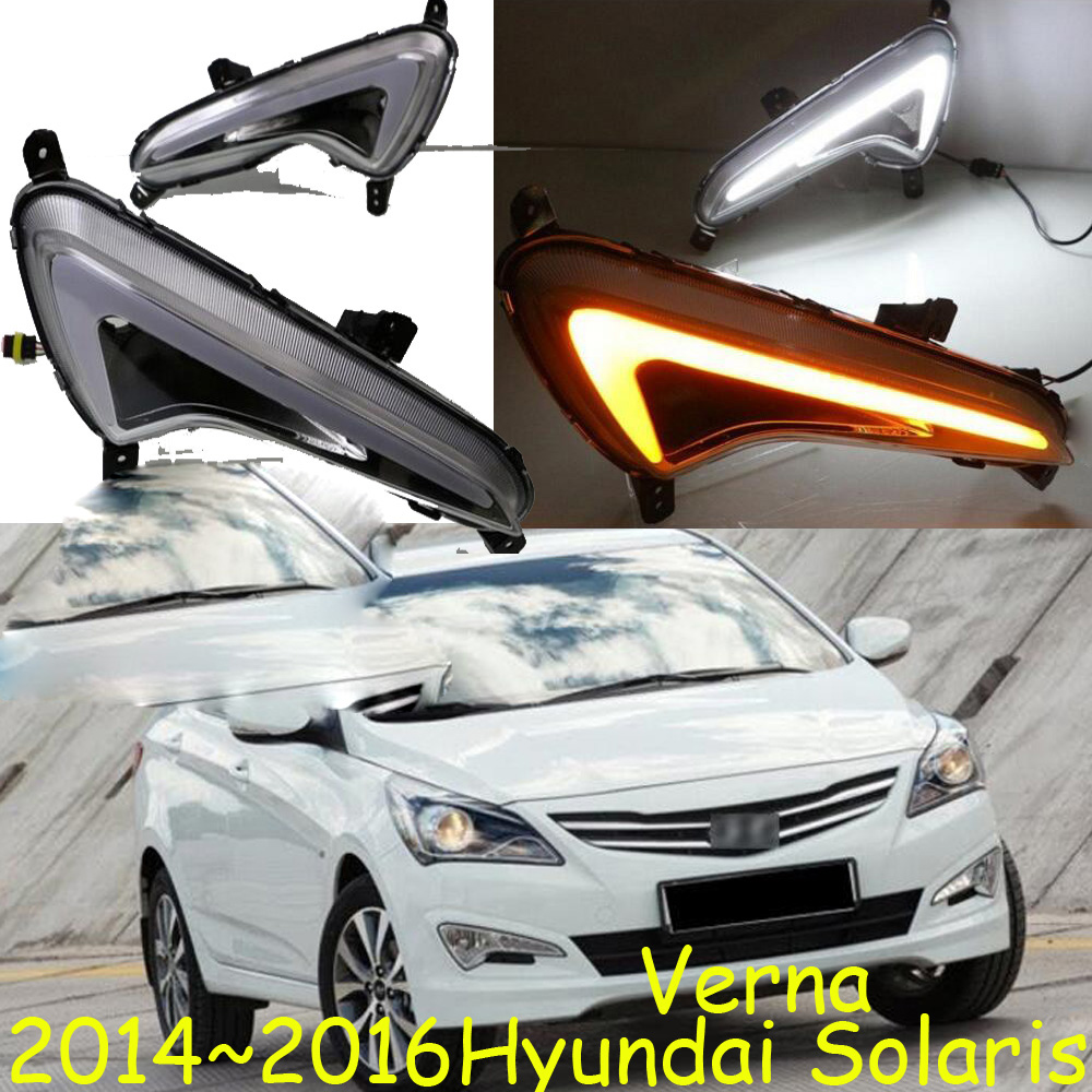 LED,2014~2017 verna daytime Light,solaris,verna fog light,verna headlight,accent,Elantra,Genesis,i10,i20,verna taillight accent verna solaris for hyundai led tail lamp 2011 2013 year red color yz