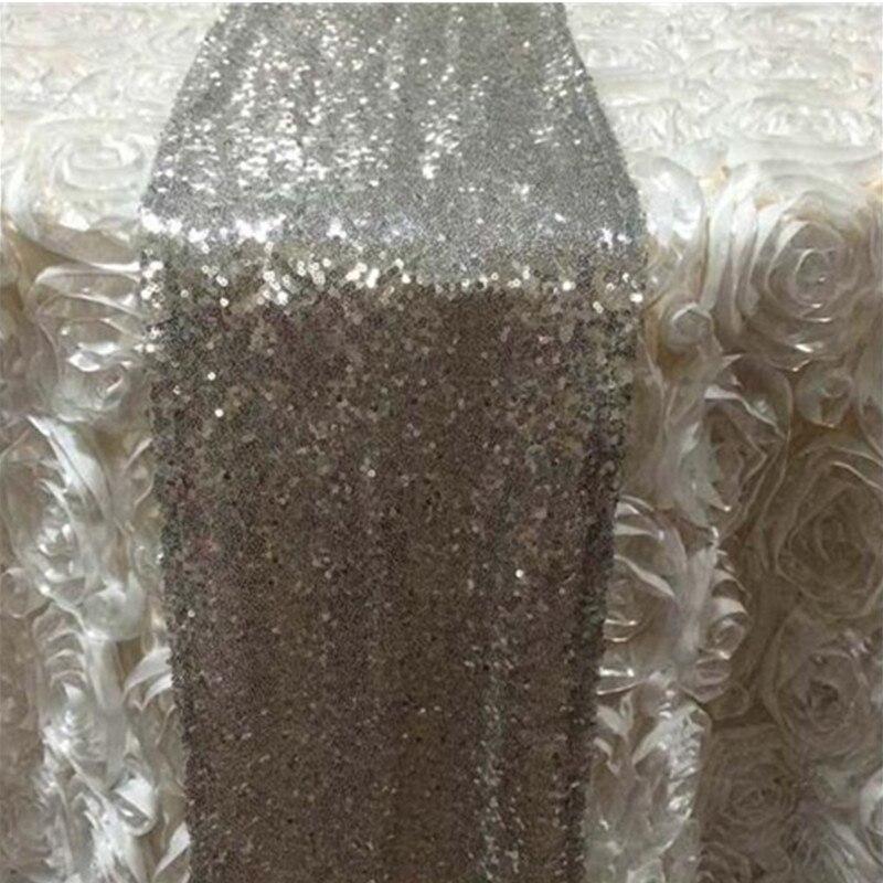 online shop sequin table runner 30 x 275 cm chemin de table cloth gold wedding tafelloper chemin de table toile de jute aliexpress mobile - Chemin De Table Color