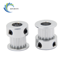 5pcs GT2 Timing Pulley 16tooth Aluminium Synchronous Wheel Gear For Width 6mm Belt 3D Printers Parts 2GT Screw Part 16 teeth