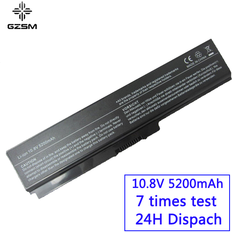 GZSM Laptop Battery L640 For TOSHIBA L640D L645 L645D  L650 L650D L655 L655D L670 L670D L675 L675D M300 M301  M302 M305  Battery