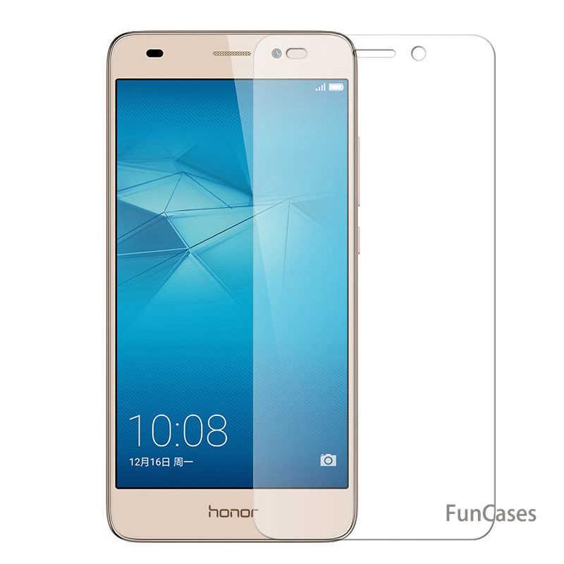 Vidro temperado Para Huawei Honor 6X 6A 4C Pro P8 P9 Lite 2017 Protetor De Tela Para Huawei P9 P10 Lite y3 II Y5 II Y6 2017 Casos