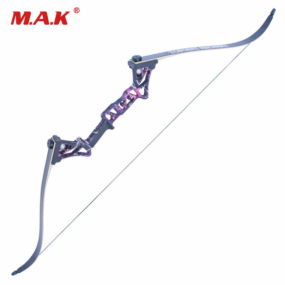 Hybrid Bow Fishing Bow 30-50 Lbs 58 Inches 5 Colors Aluminum Alloy Bow Handle for Recurve Bow Archery Hunting Shooting hybrid bow fishing bow 30 50 lbs 58 inches 5 colors aluminum alloy bow handle for recurve bow archery hunting shooting