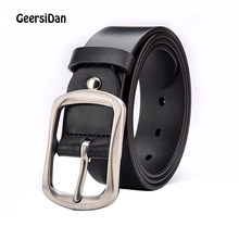 2018 Luxury long genuine leather strap men large size belt vintage brand pin buckle belt for men jeans cintos 140cm 150cm 160cm 2018 new large size genuine leather men belts fashion long male designers high quality 140cm 150cm 160cm jeans pin buckle belt
