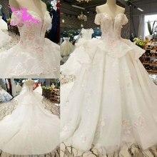 Vestidos de novia AIJINGYU vestido rústico de Suecia precios en vestidos de descuento talla grande vestido de novia con tren