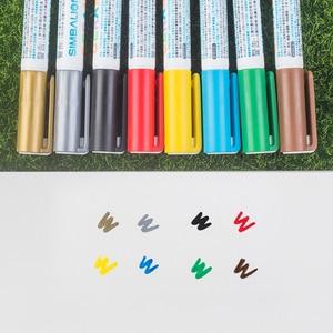 Image 4 - Simbalion 8 Colors Ceramic Marker Painted Ceramic Pigment Marker Pen Creative DIY Series Ceramic Color Pen