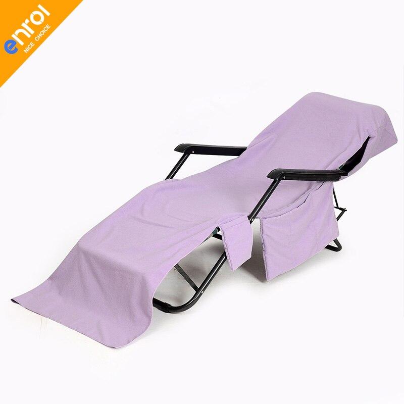 Beach Chair Cover Towels Microfiber Double Velvet 210x67cm Lounger Mate Beach Towel For Holiday Beach Bath Towel