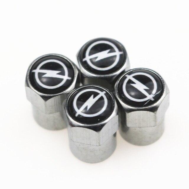 Excellent 4 pièces/ensemble nouveaux bouchons de Valve de pneu de voiture adaptés pour OPEL Astra H G J Insignia Mokka Zafira Corsa Vectra C D Antara style de voiture