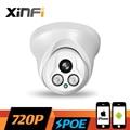 XINFI HD 1280*720 P câmera 1.0 MP POE visão nocturna Ao Ar Livre/Interior rede CCTV câmera IP P2P ONVIF 2.0 PC & Phone remote view