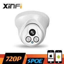 XINFI HD 1280*720P POE camera 1.0 MP night vision Outdoor/Indoor network CCTV IP camera P2P ONVIF 2.0 PC&Phone remote view