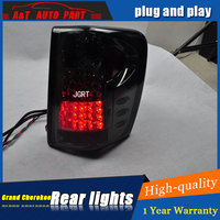 Car styling Accessories for Grand Cherokee rear Lights led TailLight for Grand Cherokee Rear Lamp DRL+Brake+Park+Signal lights