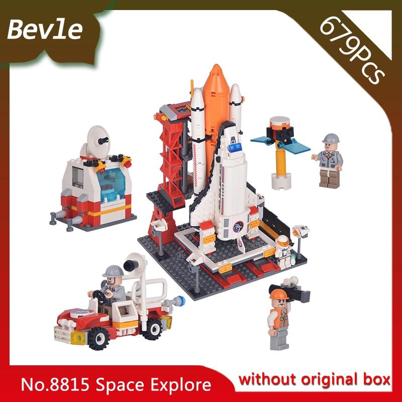Bevle Store LEPIN 8815 679Pcs Aerospace Series Space Shuttle Center Building Blocks set Bricks Children For Toys Gudi Boys Gift