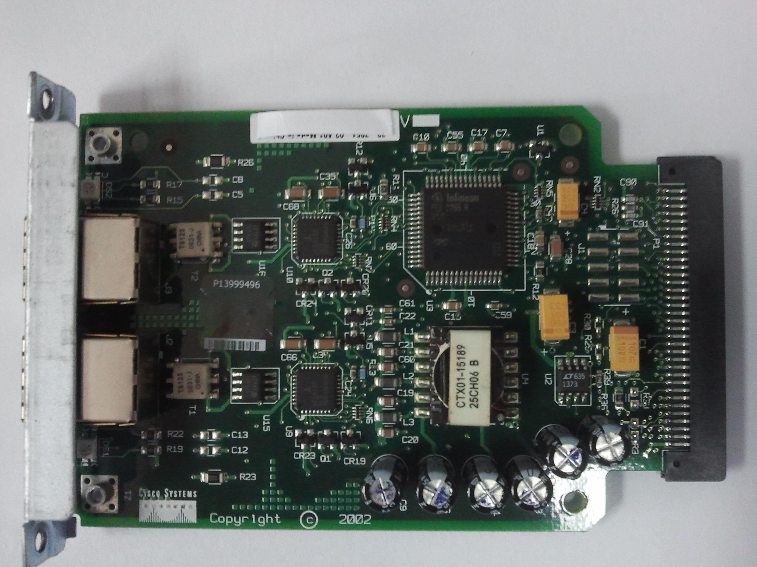 original  VIC-2FXS moduleoriginal  VIC-2FXS module