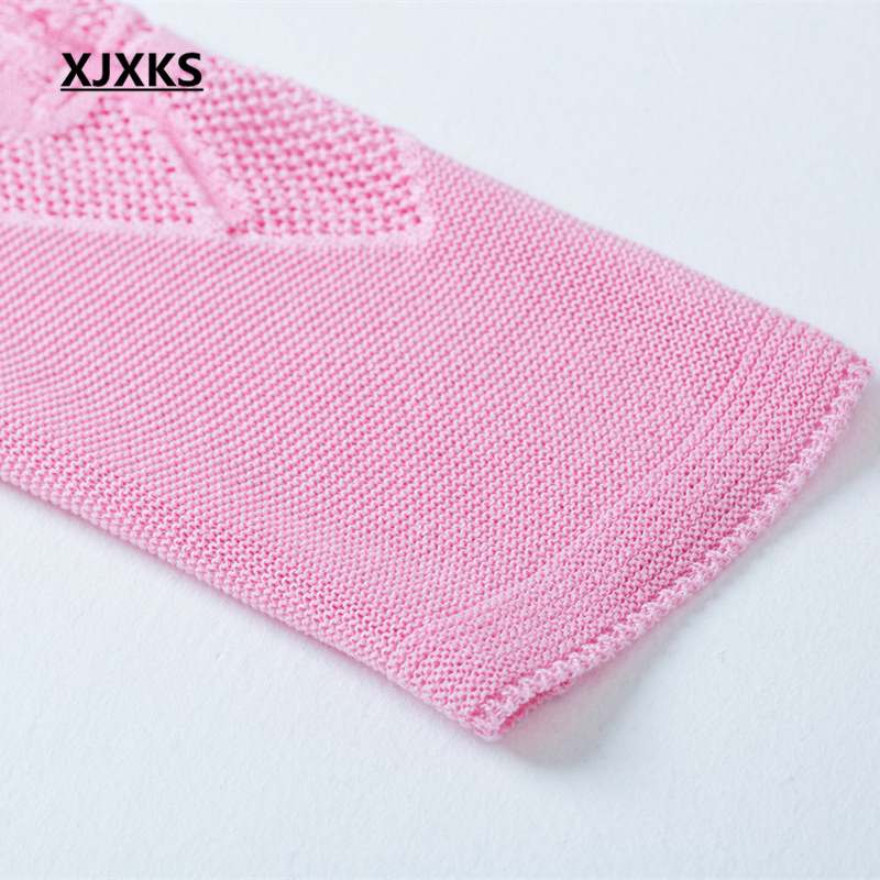 Xjxks Cardigan red green Spring V Knitting Comfortable end Linen neck Long New Fashion High Autumn blue 2019 Sweater Black Women's pink burgundy rwqCUfRtr