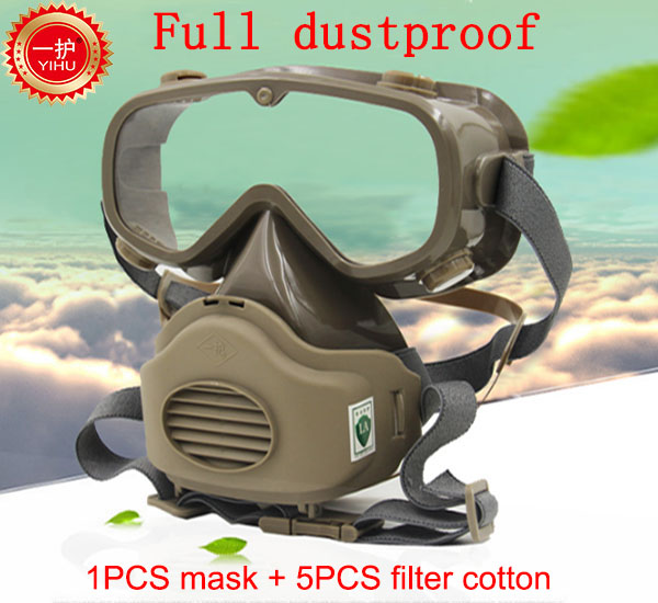 Respirator Dust Mask High Quality Filter Mask  Smoke Dust Industrial Safety Mask Anti Dust Present Mask Anti Pollution