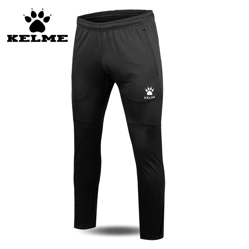 Kelme 2016 autênticos homens survetement futebol calças de treinamento de  futebol profissional de poliéster fino calças 8e966c4a36068