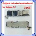 Para iphone 5c 32 gb desbloqueado originais motherboard placa lógica instalado ios sistema mainboard 100% testado bom trabalho