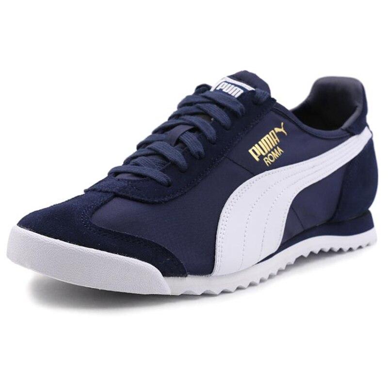 Original PUMA Roma OG Nylon Men s Running Shoes Sneakers-in Running ... b21d9d7af36a
