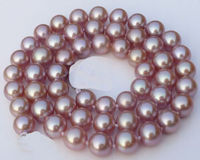 Selling Huge 1812mm Natural south sea perfect round white pearl necklace good luster14k