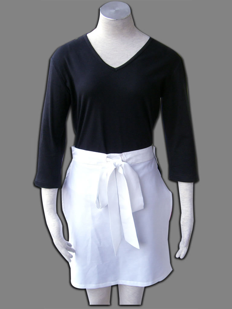 NARUTO Anime Nohara Rin Cosplay Costumes Halloween Costume/Suits Tops+Short Pants+Apron