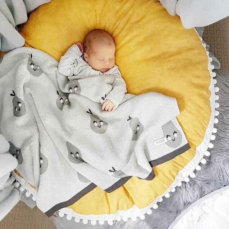 5 สีผ้าฝ้ายคุกกี้playmateเด็กโซฟาโซฟาพรมรวบรวมข้อมูลPad Play MAT/ทารกเบาะรองนั่ง