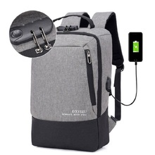 Men Multifunction USB charging 15.6/17inch Laptop Backpacks For Teenager Fashion Male Mochila Travel backpack anti thief