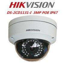 Hikvision Английская Версия 3-МЕГАПИКСЕЛЬНАЯ Ip-камера DS-2CD1131-I Заменить DS-2CD2135F-IS Сетевая Купольная CCTV Камеры Безопасности Hikvision Камеры