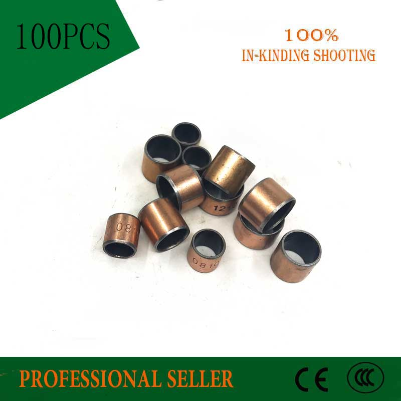 SF-1 0608 Oilless Bush  DU Self-lubricating Bushing Sintered Bush  Size 6*8*8mm Sliding Bearing