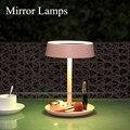 Precio bajo 2 en 1 Señora Maquillaje Cosmético 8 LED Espejo LED Espejo Luces Lámparas