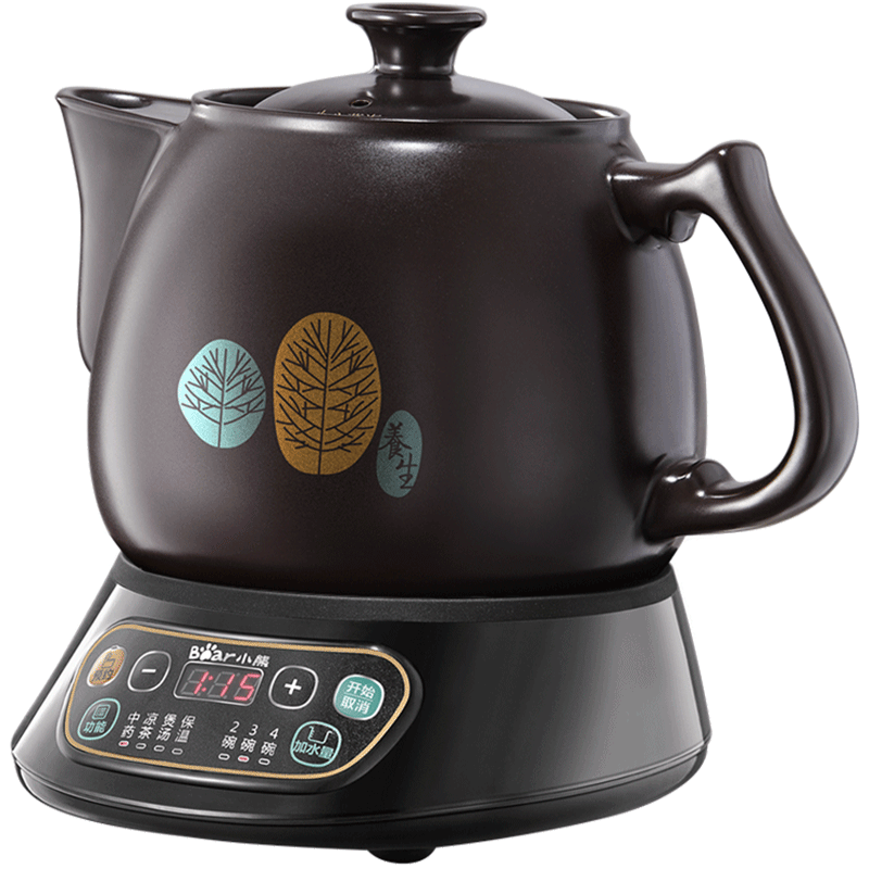 X32 3.5L automatic electric kettle ceramics Boil herb pot Porcelain Health Preserving Pot Easy to clean Microcomputer Control x32 3 5l automatic electric kettle ceramics boil herb pot porcelain health preserving pot easy to clean microcomputer control