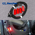 Дверная панель x4, сигнасветильник лампа + провод 8KD947411 6Y0947411 для Audi A3 A4 B8 A5 A6 A7 A8 Q3 Q5 TT RS