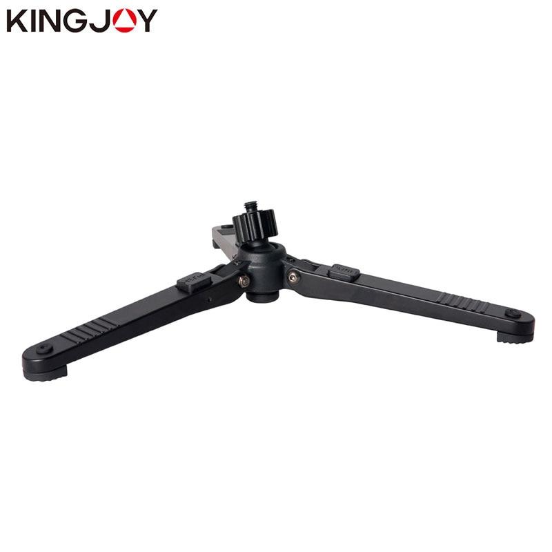 KINGJOY Oficiální M3 Profesionální hliníkový mini stolní stativ Nohy Monopod pro stativ Head Selfie Stick Rozšiřitelný telefon fotoaparát