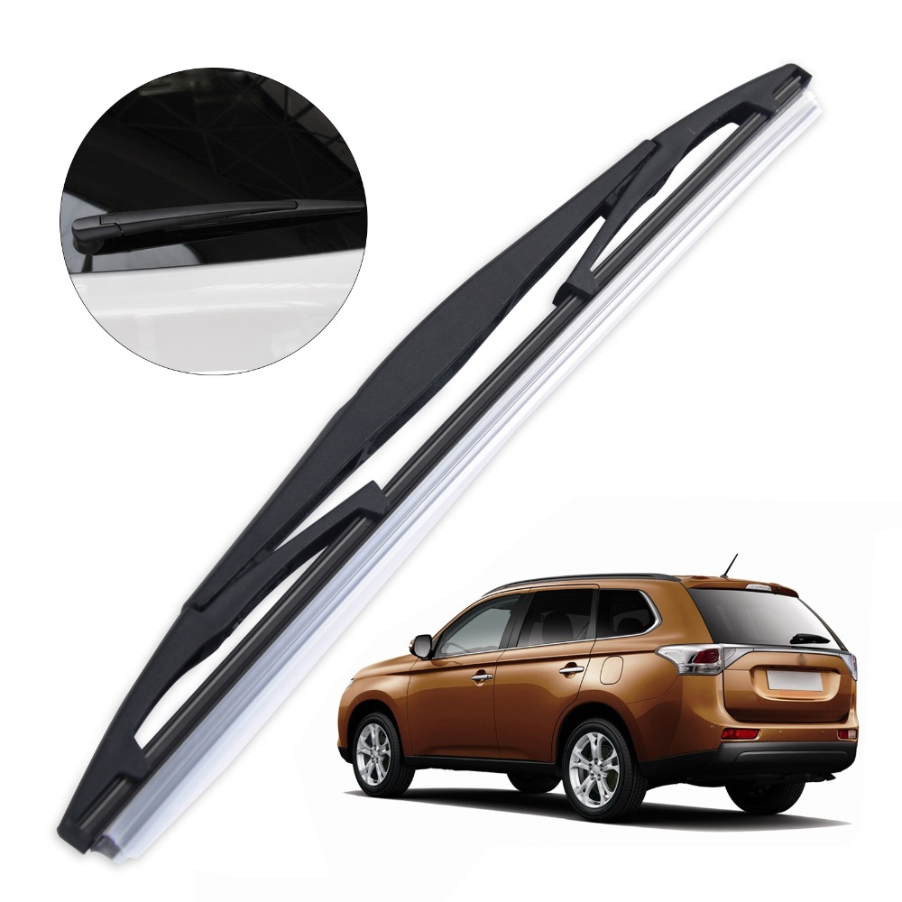 Dwcx 12 rear rain window windscreen wipers windshield wiper blade for mitsubishi pajero outlander honda