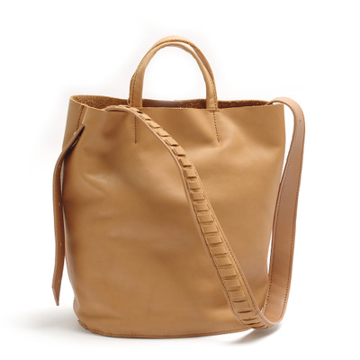 2018 novelty female genuine leather bucket bag for women summer real cowhide one shoulder bag causal soft leather tote handbag