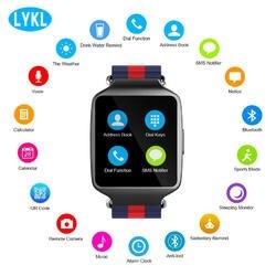 2018 L1 Смарт-часы прогноз погоды дистанционного Музыка Камера вызова SMS напоминание Спорт Шагомер Bluetooth Smartwatch для IOS андроид