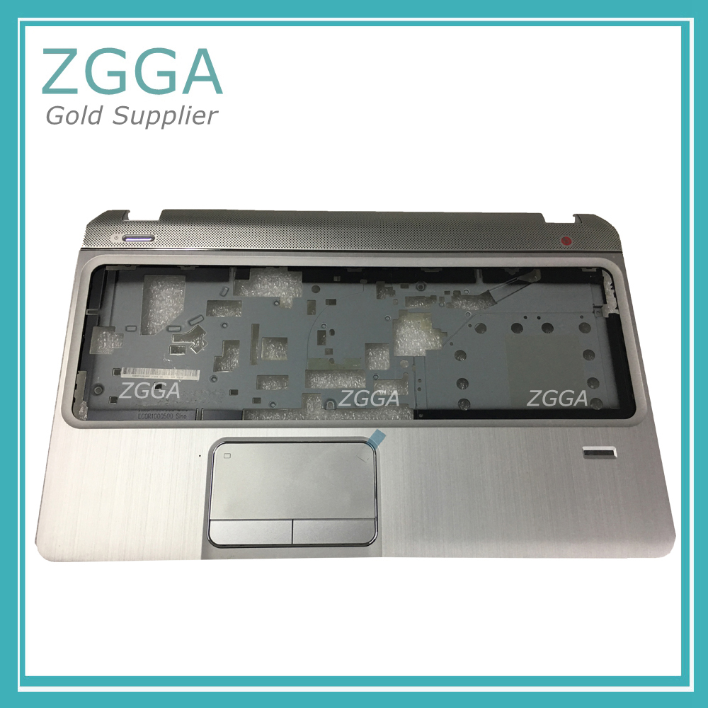 Genuine Laptop Palmrest For HP Envy M6 M6-1000 M6-1125dx M6-1035dx M6-1009DX Top Cover Upper Case Silver W/Touchpad 705196-001 new ru for lenovo u330p u330 russian laptop keyboard with case palmrest touchpad black