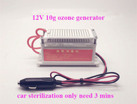 10g/ ozone generator 12v for car sterilization Car Portable Ozone Generator Air Cleaner Car Purifier Ceramic Plate