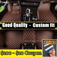 Custom fit 3D Car floor mats for Mercedes Benz A C W204 W205 E W211 W212 W213 S class CLA GLC ML GLE GL carpet floor liner