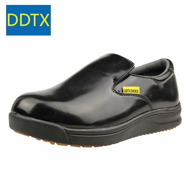 Ddtx Non Slip Kitchen Work Shoes Men Oil Resistance Waterproof Hotel