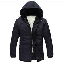 2016 Hot Sale Men Winter Jacket Korean Style Slim Fit Fashion Warm Thick Men Coat XL-3XL men's clothing,EDA888