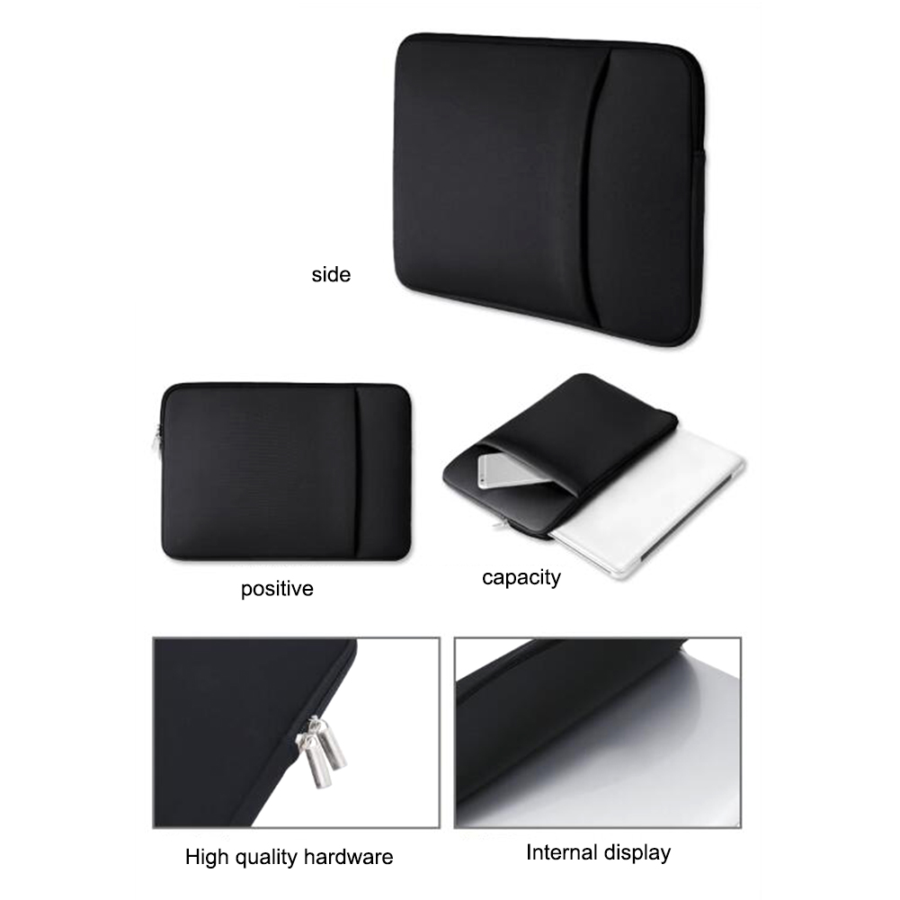 Image 5 - Laptop Notebook Sleeve 11 12.5 13.3 14 15 15.6 inch Notebook Case Protection Bag Cover for MacBook-in Laptop Bags & Cases from Computer & Office