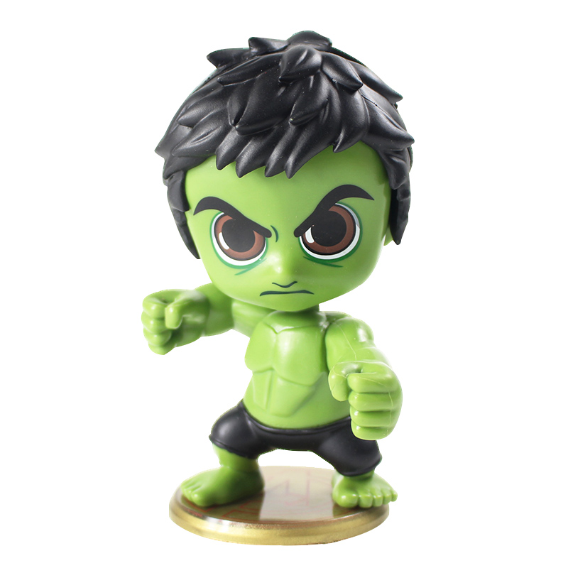 Super Hero Hulk Bobble Kepala Sosok Mainan Super Hero Lucu Q Versi Boneka Pvc Gambar Mobil Dekorasi Mainan Aksi Toy Angka Aliexpress