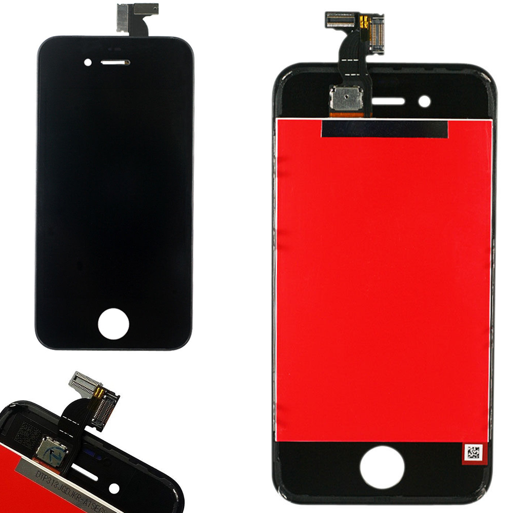 new arrival bbf11 2d18f US $29.99 |Black LCD Display Digitizer For iPhone 4S Touch Screen Assembly  Replacement For iPhone 4S A1387 A1431 Free Shipping ใน Black LCD ...