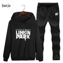 Men Tracksuit Assassins Hoodies Autumn Winter Fitness Streetwear Hip-Hop Suits Pullover Sweatshirts M-4XL Moletom Masculino 2018(China)