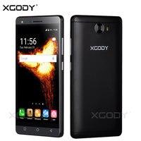 XGODY 5.0 Inch Smartphone 1GB RAM 8GB ROM Android 5.1 Quad Core Dual Sim Cards Touchscreen Telefone Celular 3G Cheap Cell Phones