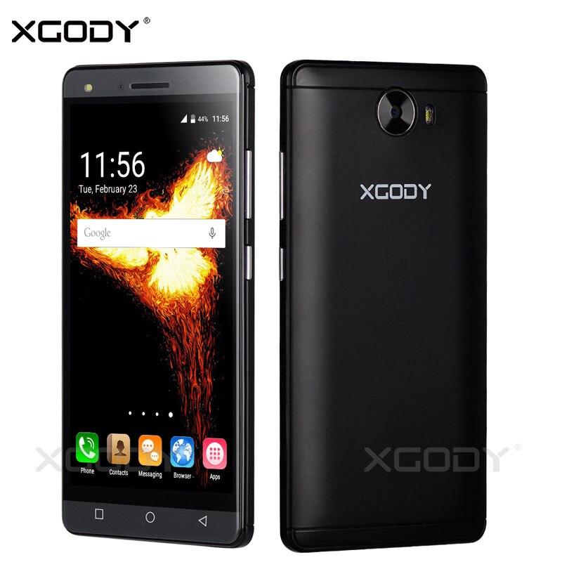 bilder für XGODY 5 zoll Smartphone Android 5.1 Quad Core 512 MB RAM 8 GB ROM Kamera Dual Sim Karten Telefone Celular 3G Entsperrt Handys