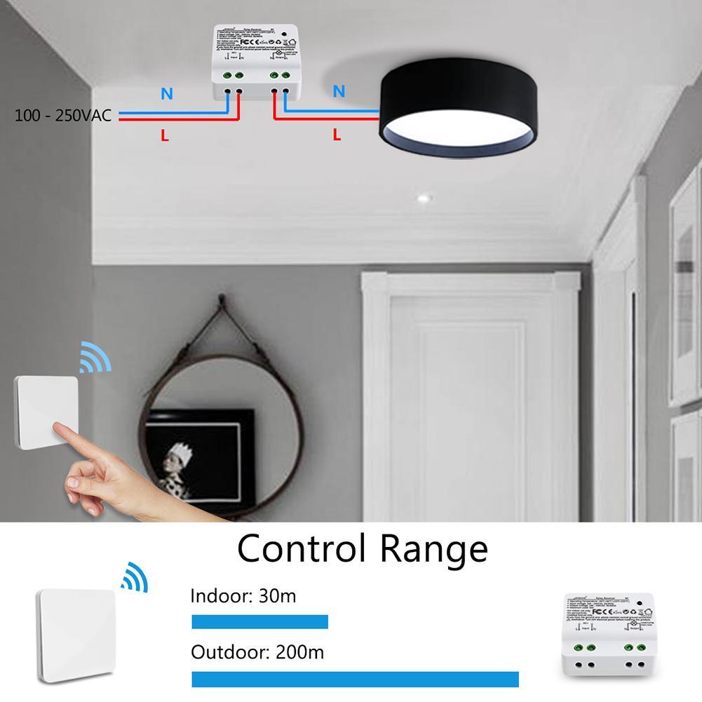 Cinética Luzes Kit Interruptor Sem Fio, Sem Bateria Sem Fiação, quick Criar ou Mudar On/off Switches para Fãs Lâmpadas Aparelhos