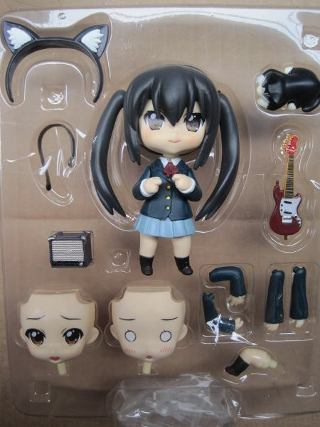 K-ON! Nakano Azusa Q Action Figures PVC brinquedos Collection Figures toys for christmas gift free shipping