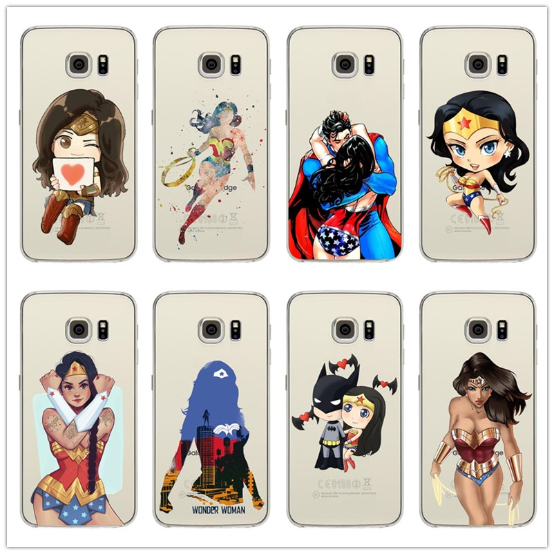 coque wonder woman samsung s7 edge